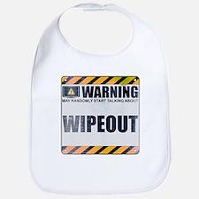 Warning: Wipeout Bib