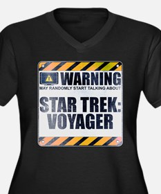 Warning: Star Trek: Voyager Women's Dark Plus Size