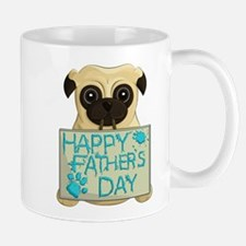 Father's Day Pug Mugs
