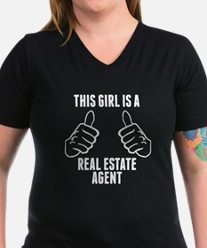 This Girl Is A Real Estate Agent T-Shirt