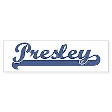 Presley (sport-blue) Bumper Bumper Sticker