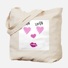 In the Face of Love Tote Bag