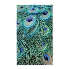 Peacock Feathers Area Rug