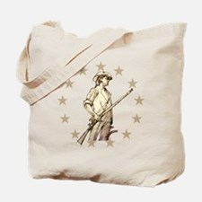 Concord Minuteman Drawing Tote Bag