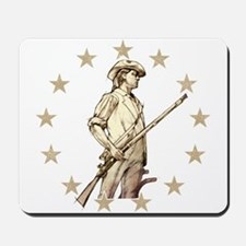 Concord Minuteman Drawing Mousepad
