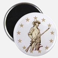Concord Minuteman Drawing Magnets