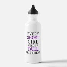 Short Girl - Tall Girl Water Bottle