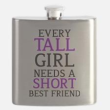 Tall Girl - Short Girl Flask