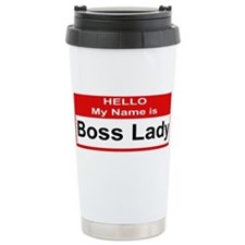 Cute Boss lady Travel Mug