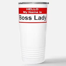 Cute Boss lady Travel Mug