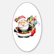 santa and his sack of Decal