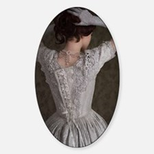 victorian woman  Decal