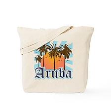 Aruba Caribbean Island Tote Bag