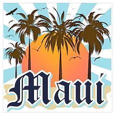 Maui Hawaii Poster