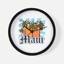 Maui Hawaii Wall Clock
