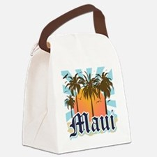 Maui Hawaii Canvas Lunch Bag
