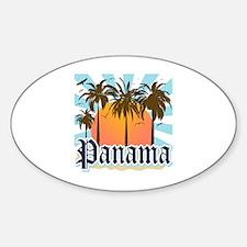 Panama Sticker (Oval)