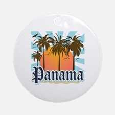 Panama Round Ornament
