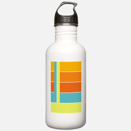 Cute Rectangular Water Bottle