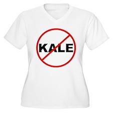 No Kale Plus Size T-Shirt