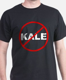 No Kale White T-Shirt