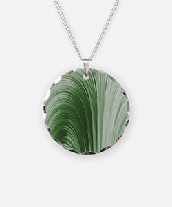Minty Green Curtain Necklace