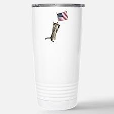 Kitten Flag Travel Mug