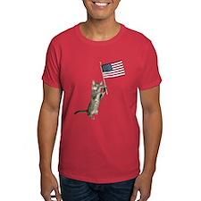 Kitten Flag T-Shirt
