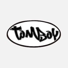 Tomboy Biker Clothing Patch