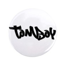 Tomboy Pride Button
