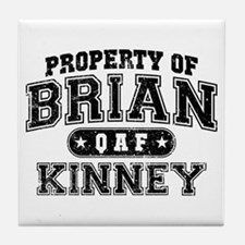 Property of Brian Kinney Tile Coaster