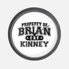 Property of Brian Kinney Wall Clock