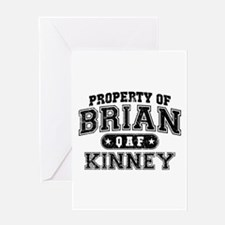 Property of Brian Kinney Greeting Card
