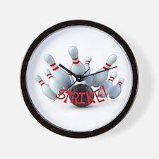 STRIKE! Wall Clock