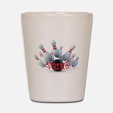 STRIKE! Shot Glass
