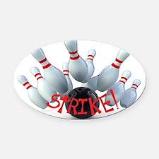 STRIKE! Oval Car Magnet