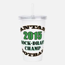 Mock-Draft Champ Acrylic Double-wall Tumbler