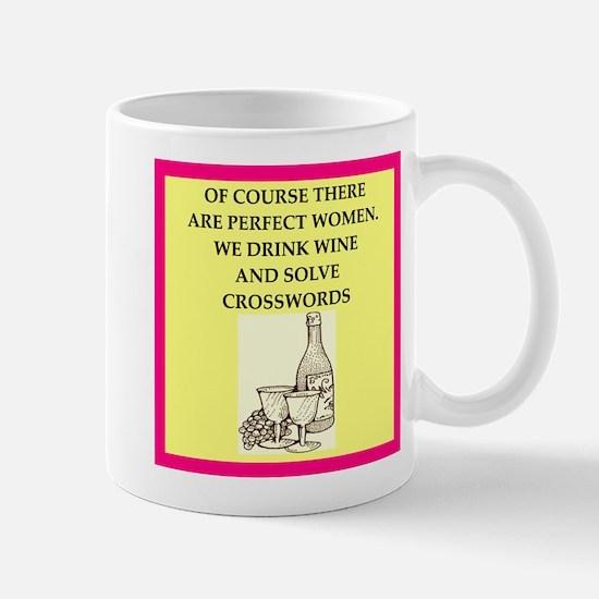 crossword Mugs