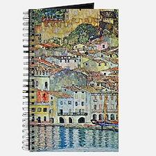 Malcesine on Lake Garda by Gustav Klimt Journal