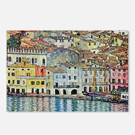 Malcesine on Lake Garda b Postcards (Package of 8)