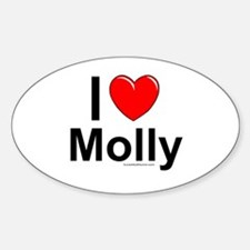 Molly Sticker (Oval)