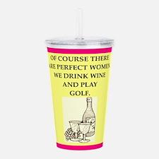 golf Acrylic Double-wall Tumbler