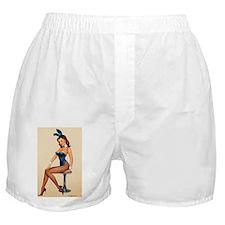 Pin Up Rabbit Boxer Shorts
