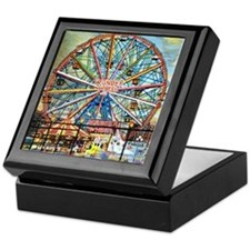 Wonder Wheel Park Keepsake Box