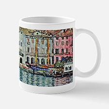 Malcesine on Lake Garda by Gustav Klimt Mugs