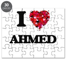 I Love Ahmed Puzzle