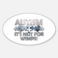 Funny Attention deficit disorder Sticker (Oval)