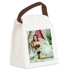 Pin Up: Lingerie ! Canvas Lunch Bag