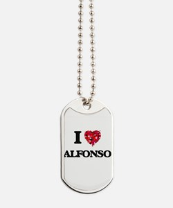 Unique Alfonso Dog Tags