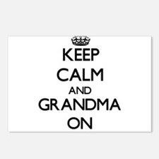 Funny Grandfather to be Postcards (Package of 8)